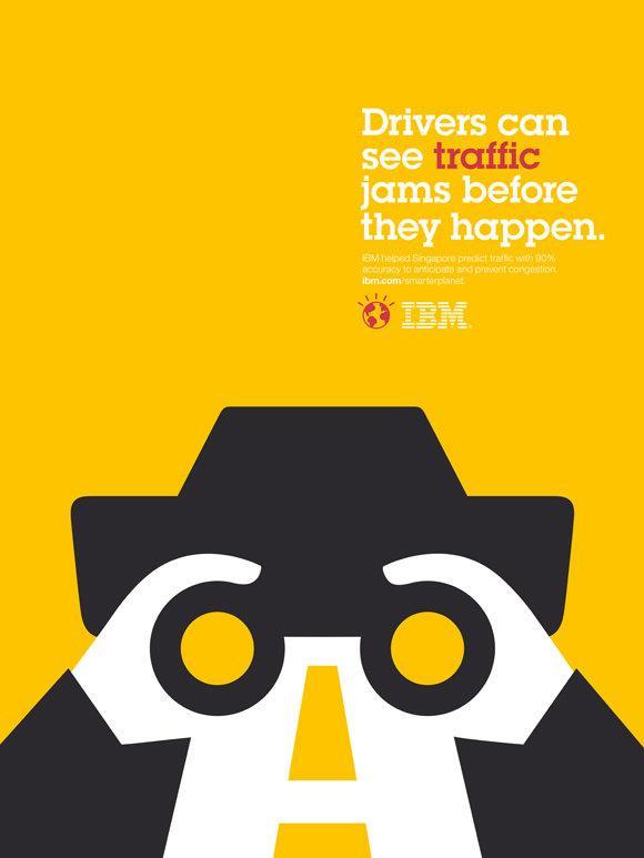 IBM Print Ad -  Smarter Planet, Wheels