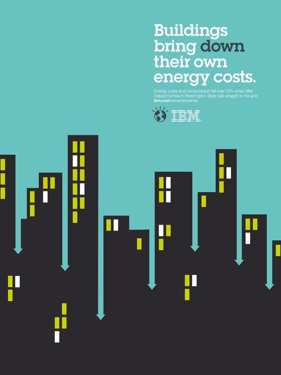 IBM Print Ad -  Smarter Planet, Arrows