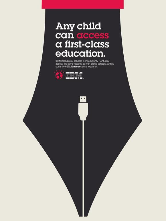 IBM Print Ad -  Smarter Planet, Nib
