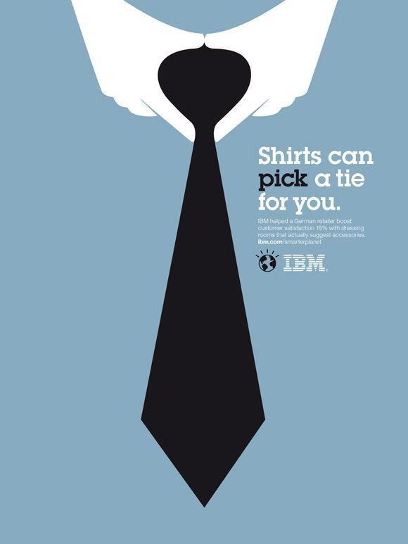 IBM Print Ad -  Smarter Planet, Neck tie