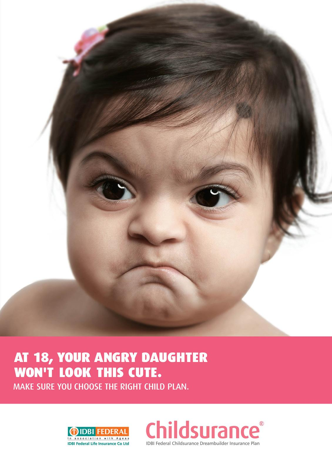 Idbi federal print advert by ogilvy angry baby 3 ads for You are hot pictures