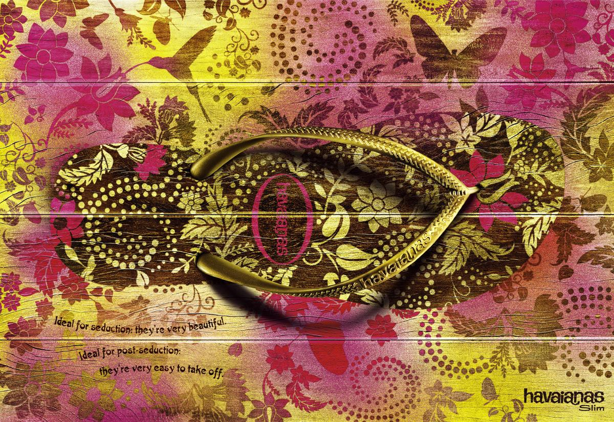 Havaianas Print Ad -  Ideal for seduction