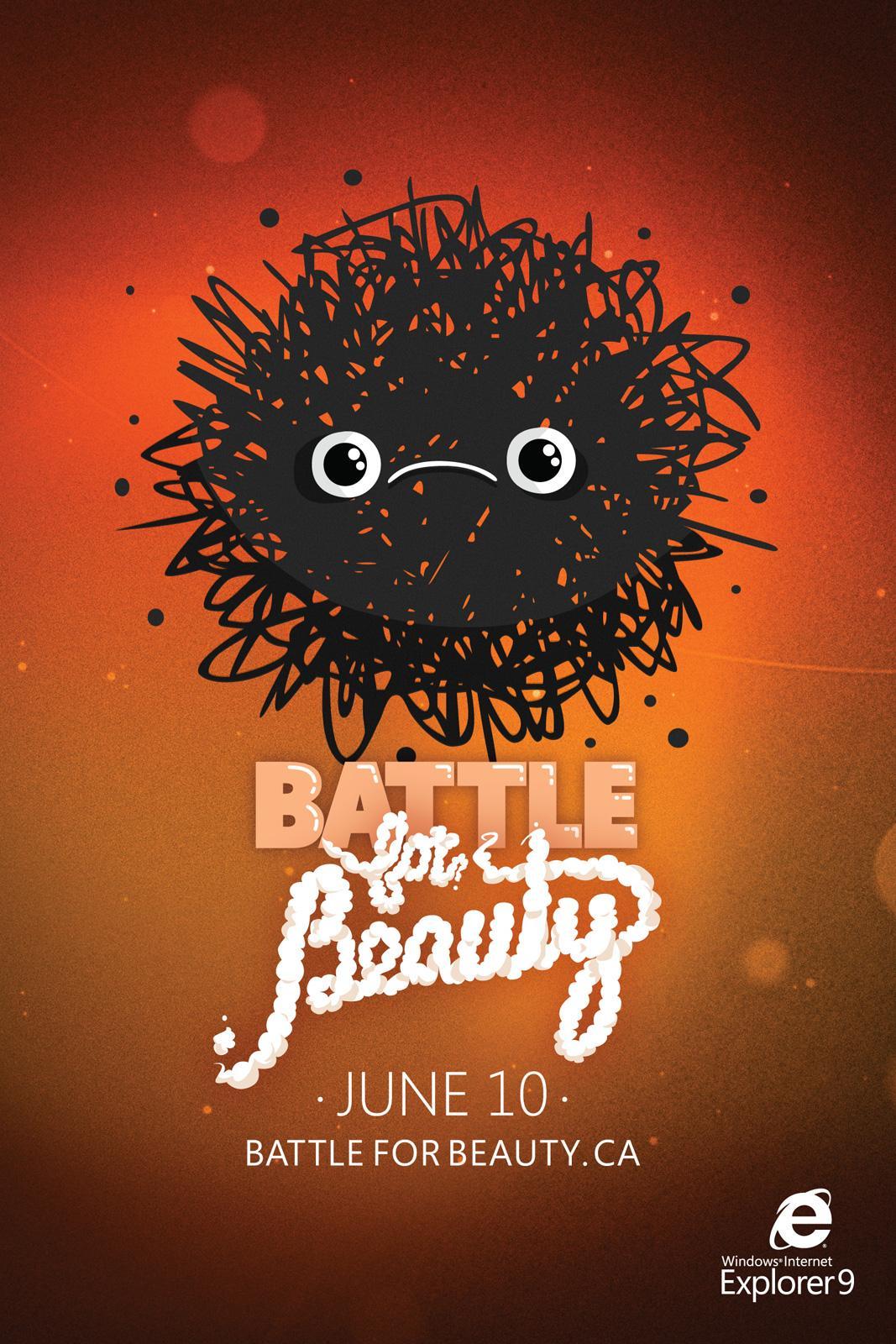Microsoft Print Ad -  Battle for beauty, 2