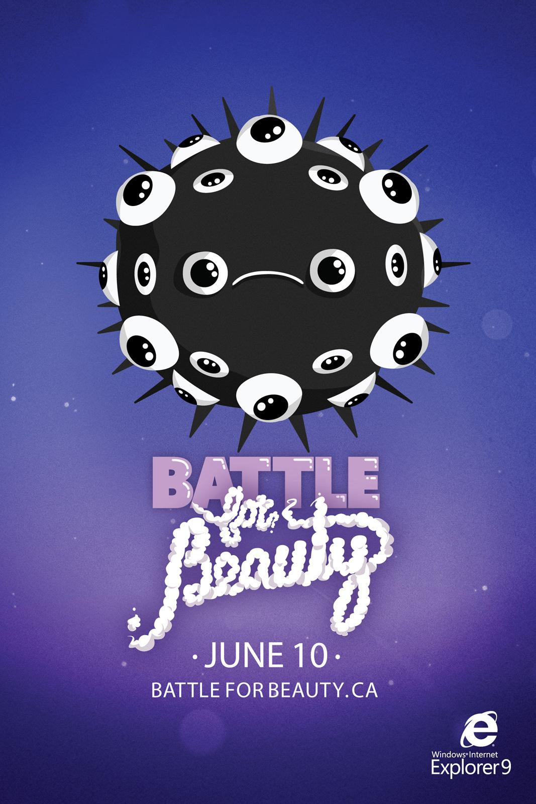 Microsoft Print Ad -  Battle for beauty, 4