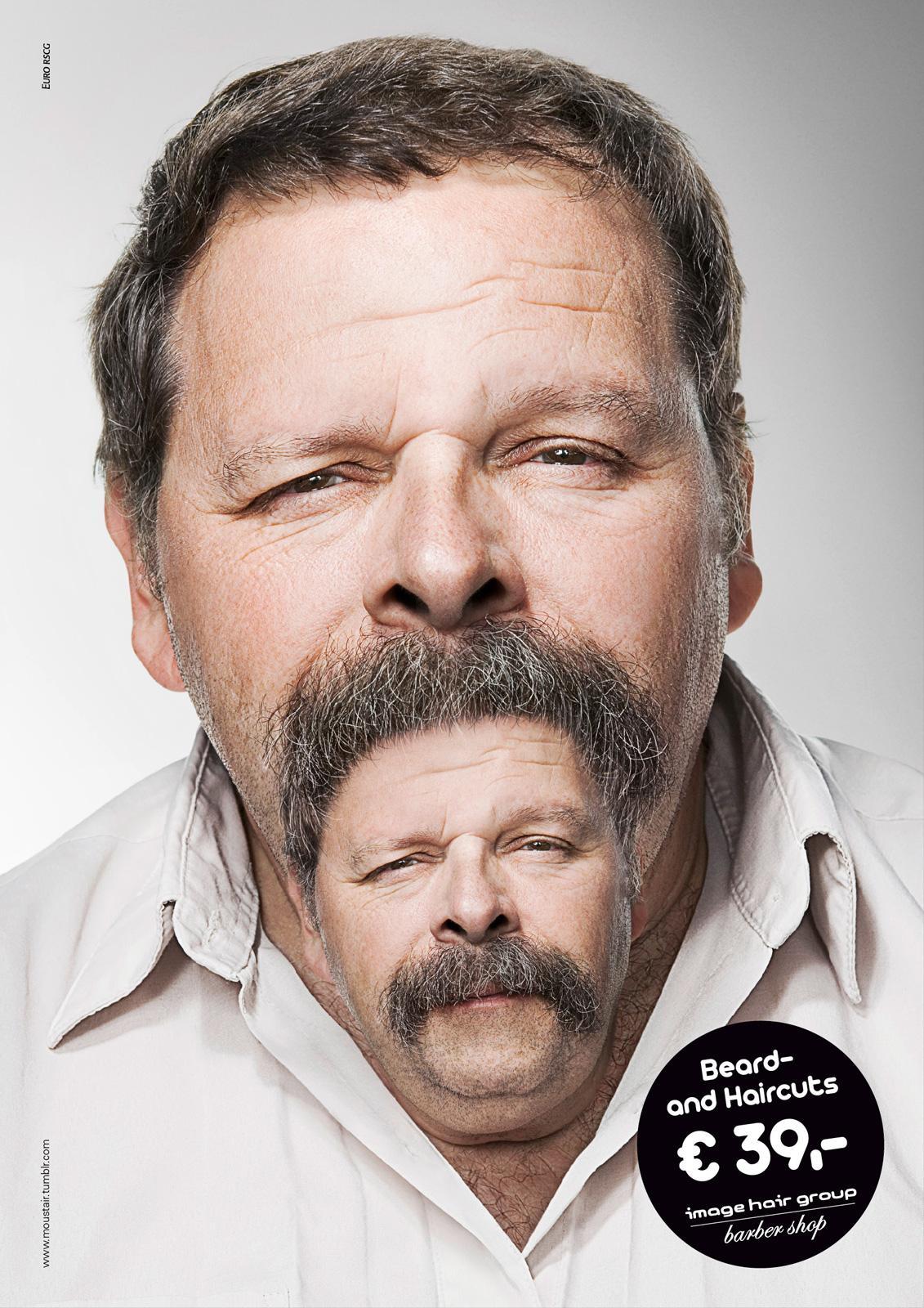 Image Hair Group Print Ad -  Hairbeard, 2