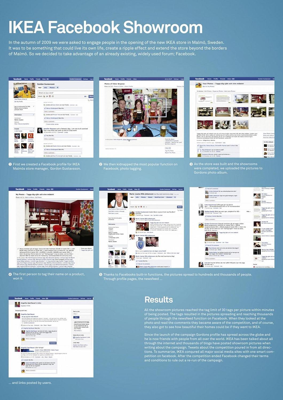 IKEA Digital Ad -  Facebook Showroom