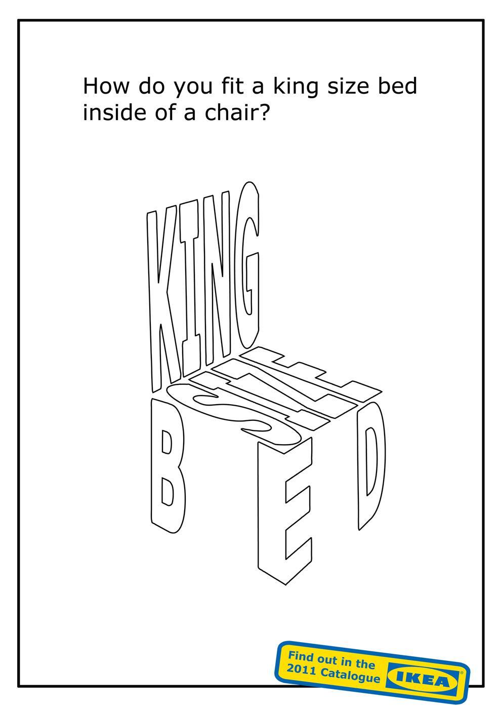 IKEA Print Ad -  Teaser, 1