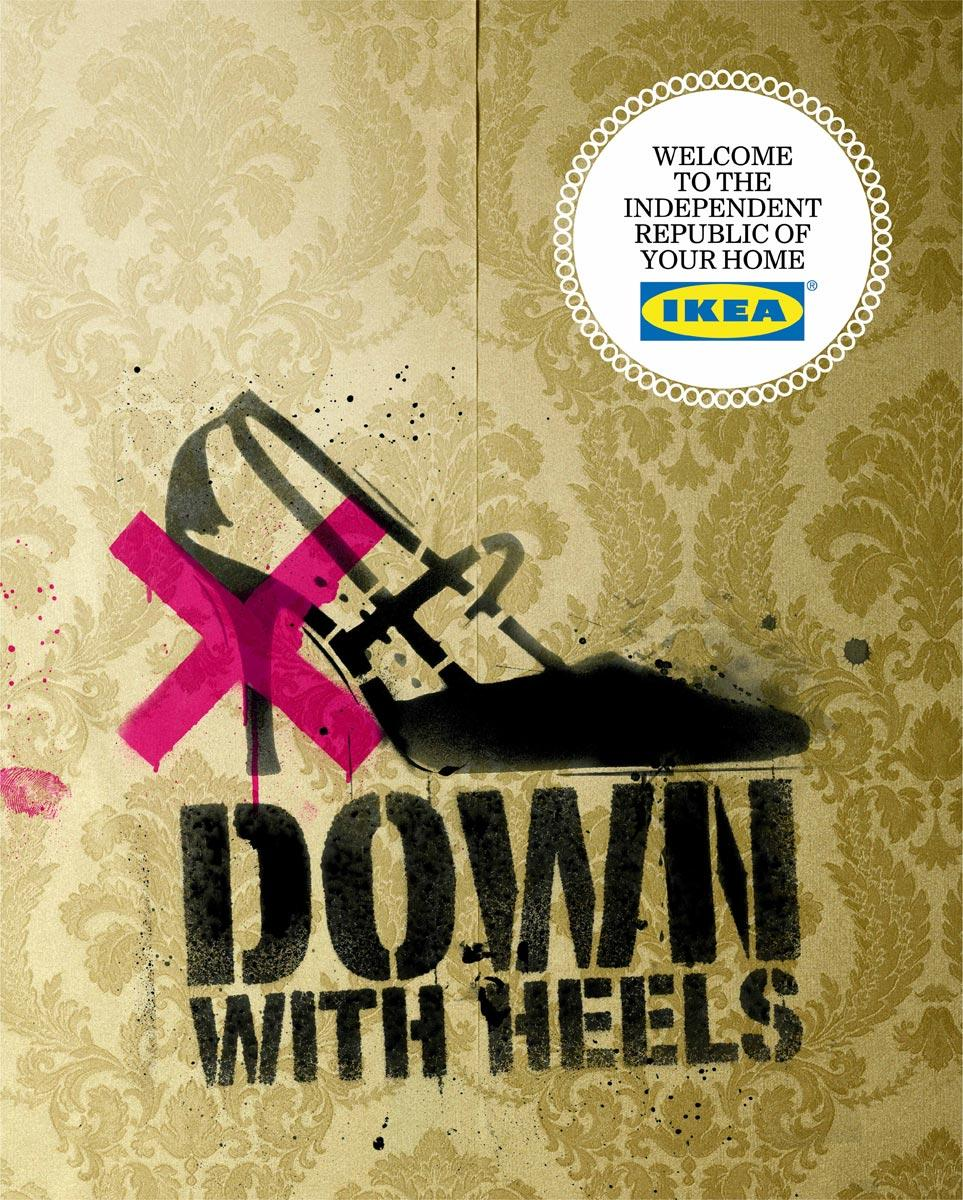 Down with heels