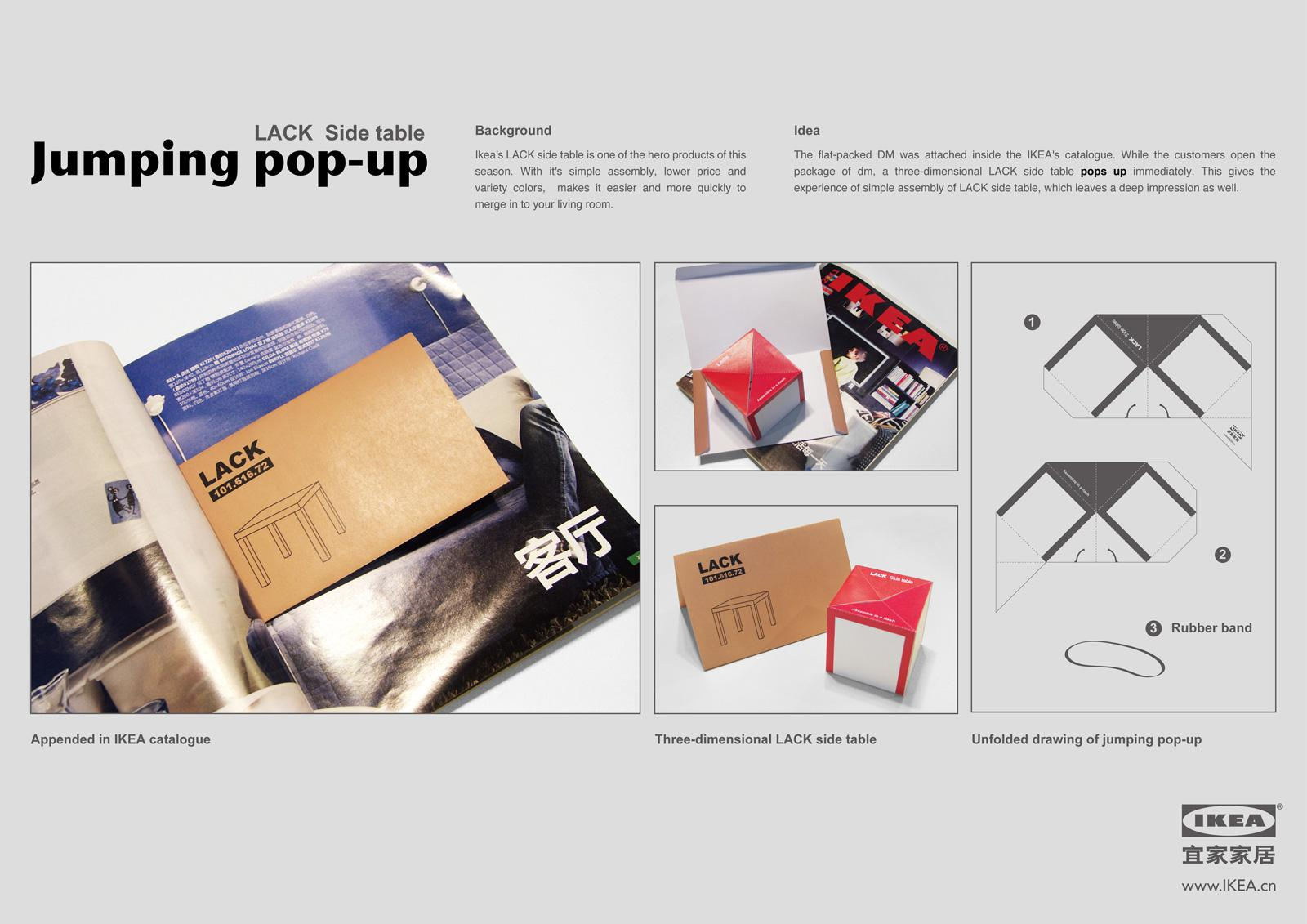IKEA Direct Ad -  Pop-up