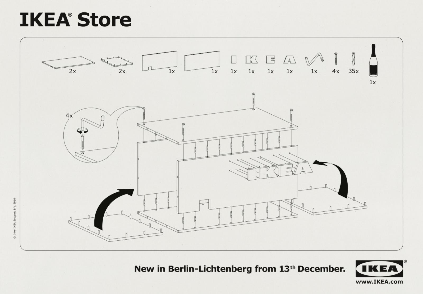IKEA Print Ad -  Store Opening