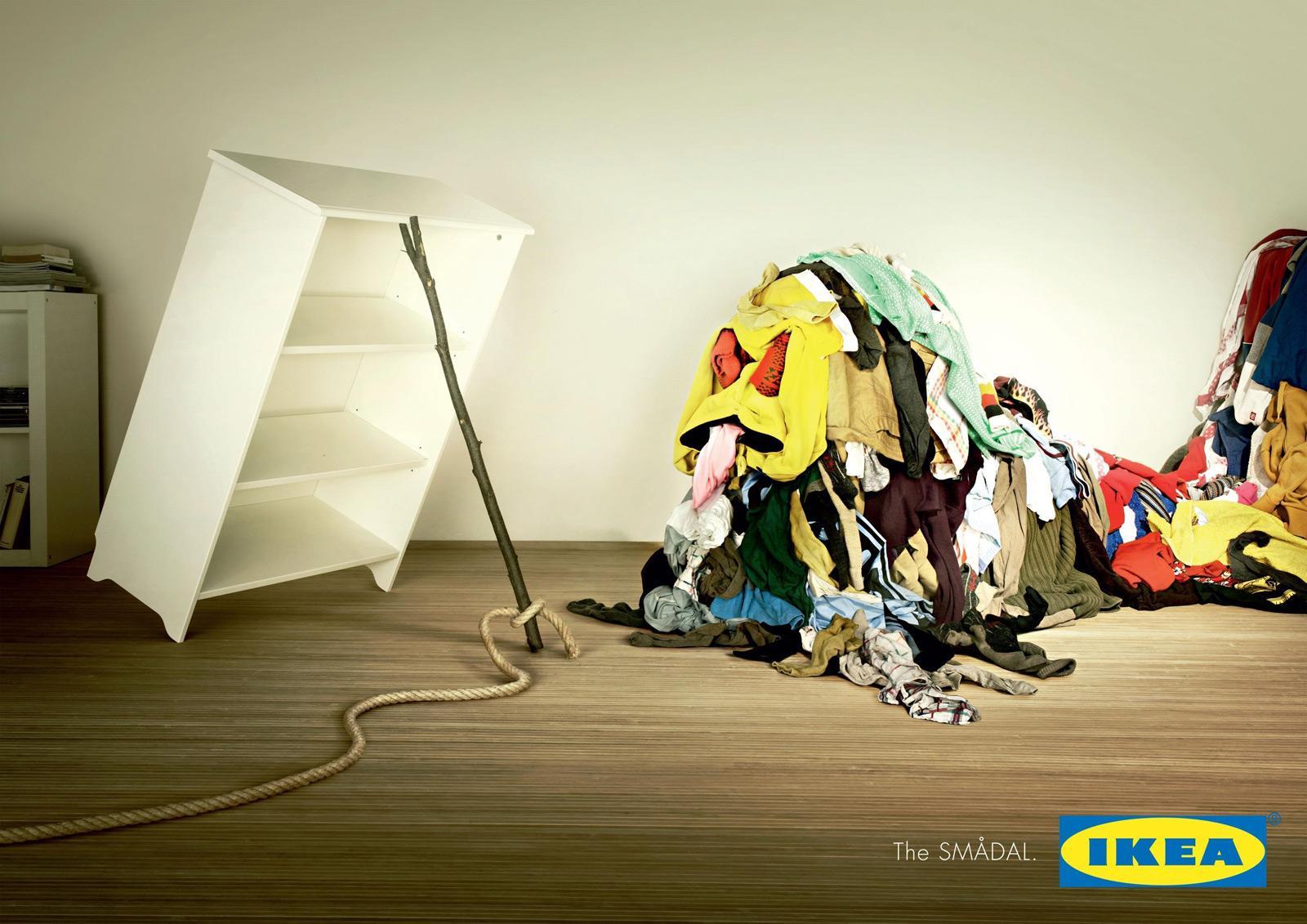 IKEA Outdoor Ad -  Clothesbeast