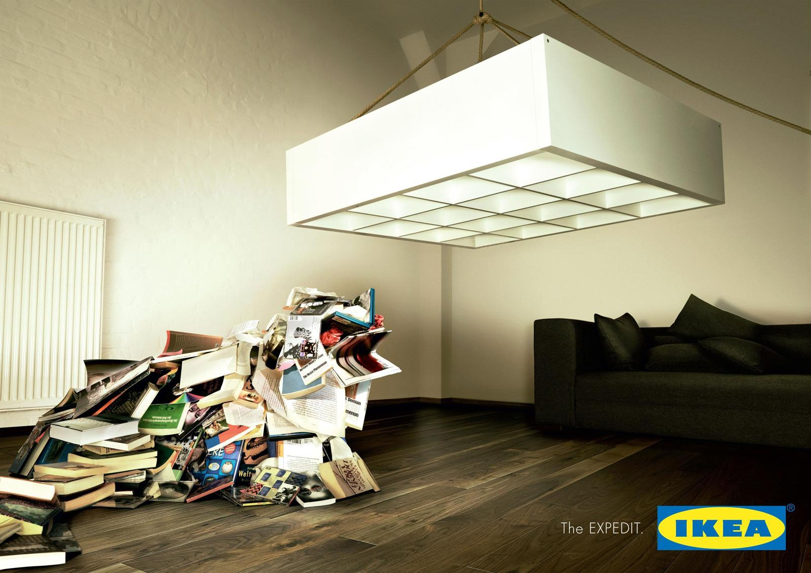 IKEA Outdoor Ad -  Bookbeast