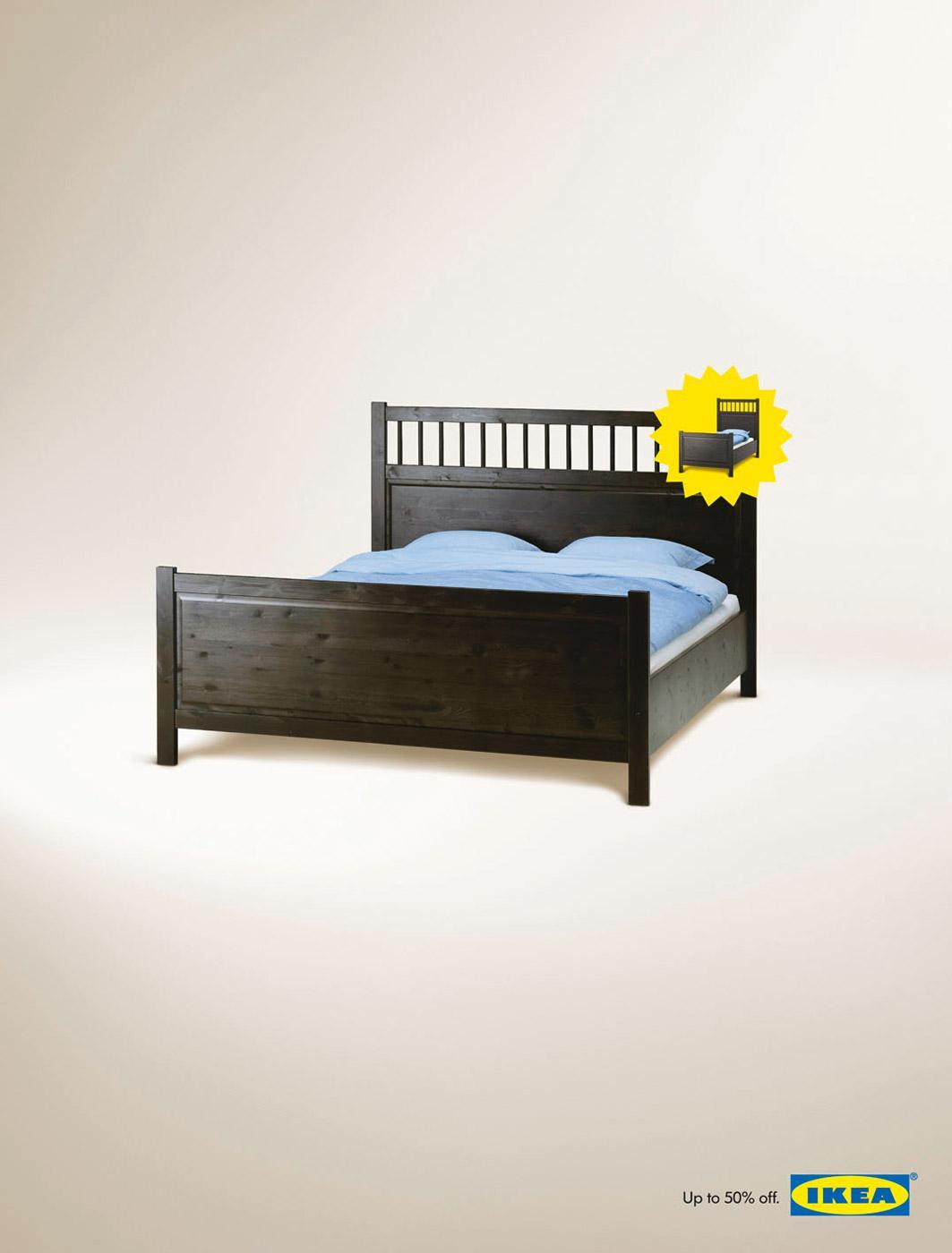 IKEA Print Ad -  Bed