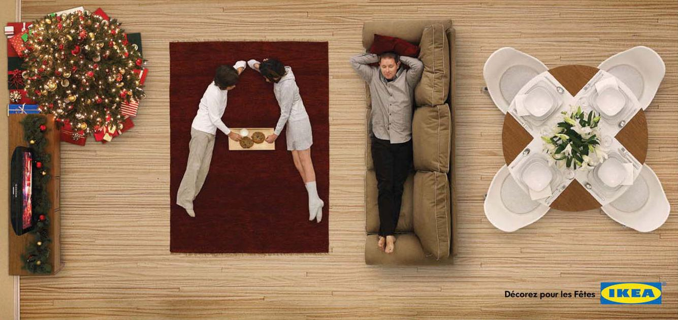 IKEA Print Ad -  Decorate for the holidays, 1