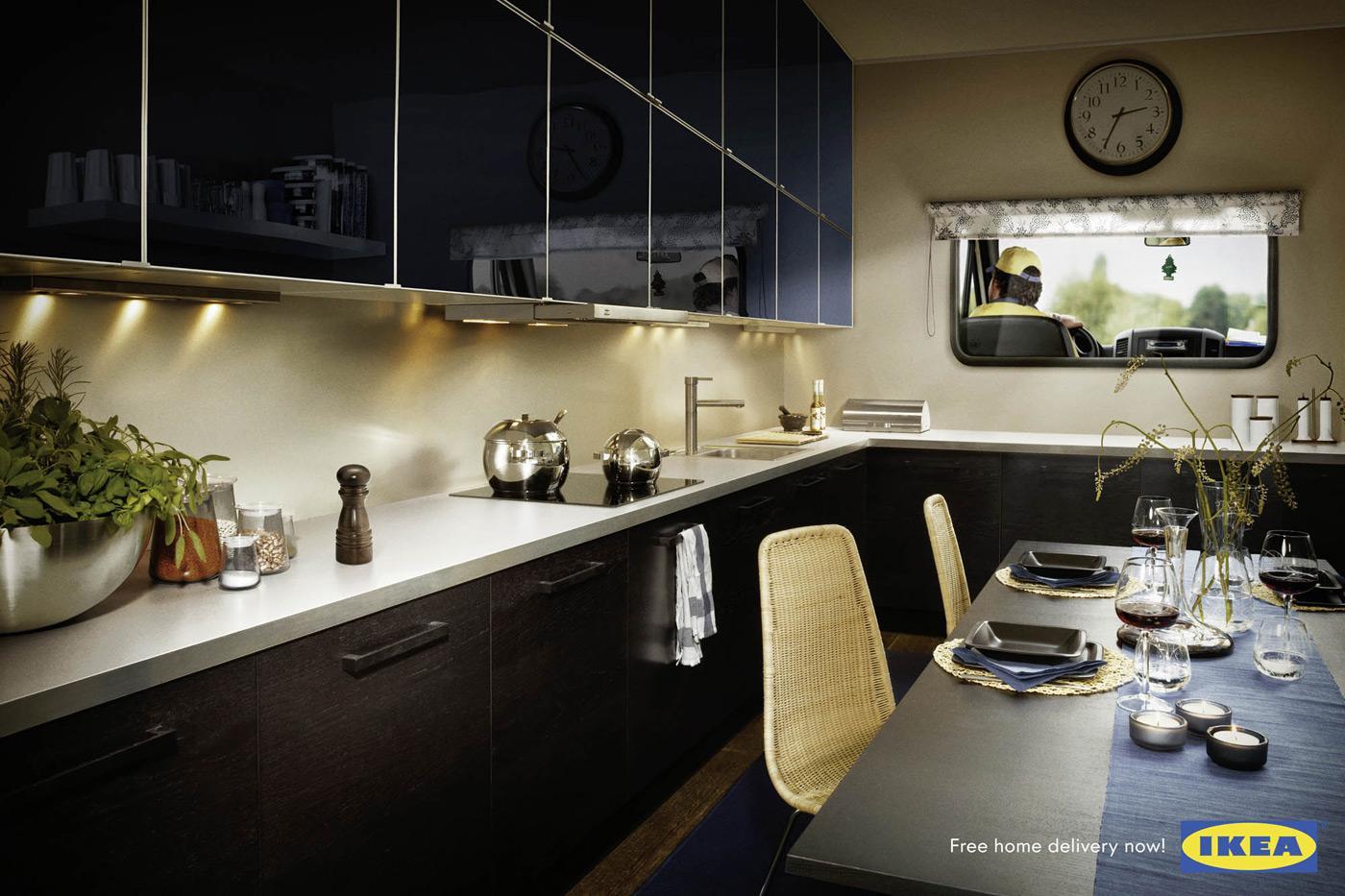 IKEA Print Ad -  Kitchen