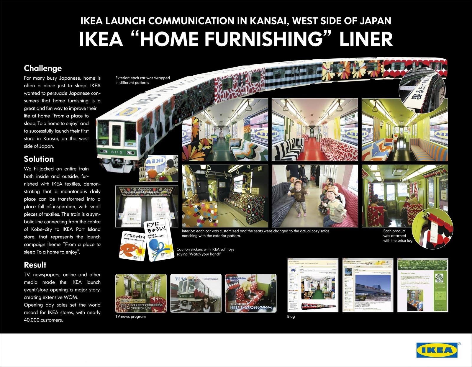 IKEA Outdoor Ad   Home furnishing liner. IKEA Outdoor Advert By ADK  Drill  Home furnishing liner   Ads of
