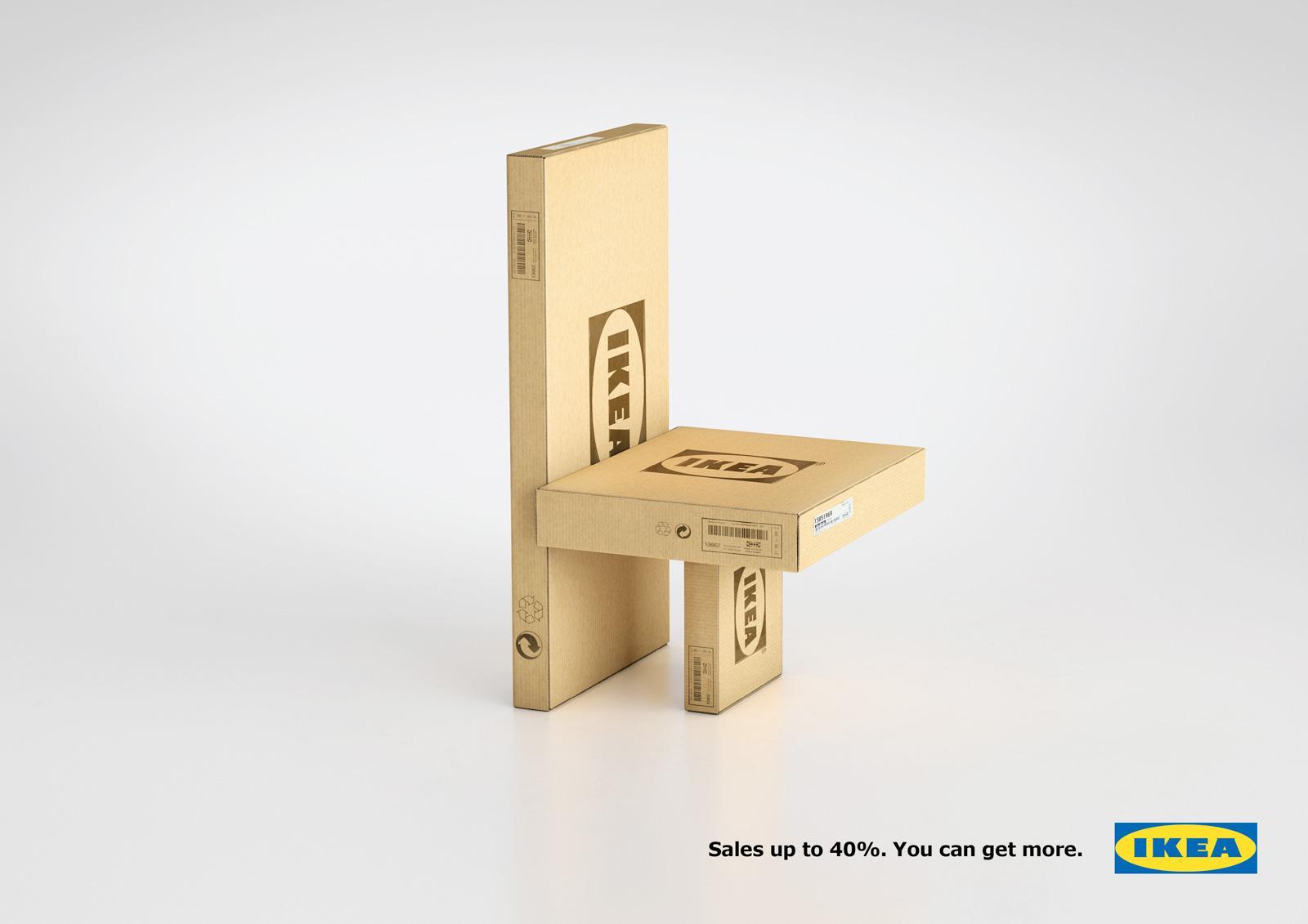 IKEA Print Ad -  Sales, Chair