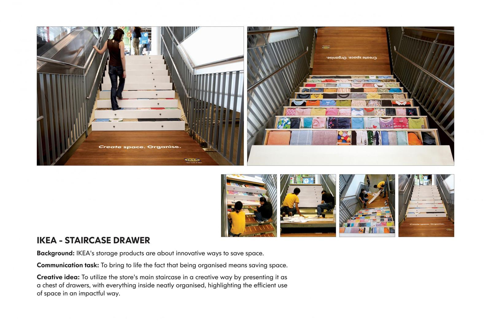 IKEA Outdoor Ad -  Staircase