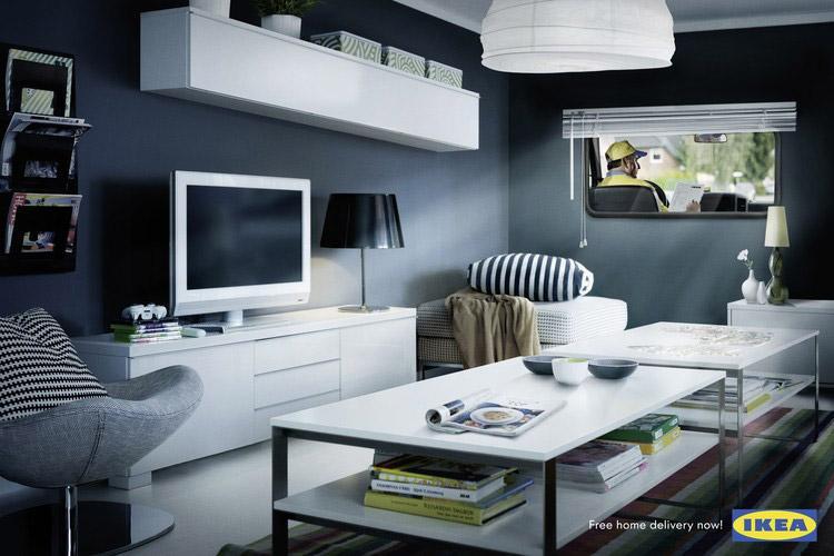 IKEA Print Ad -  Van
