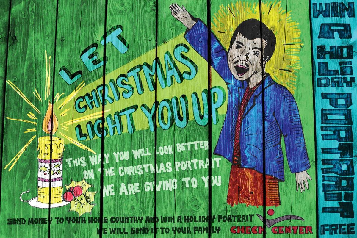 Holiday posters, Illuminated