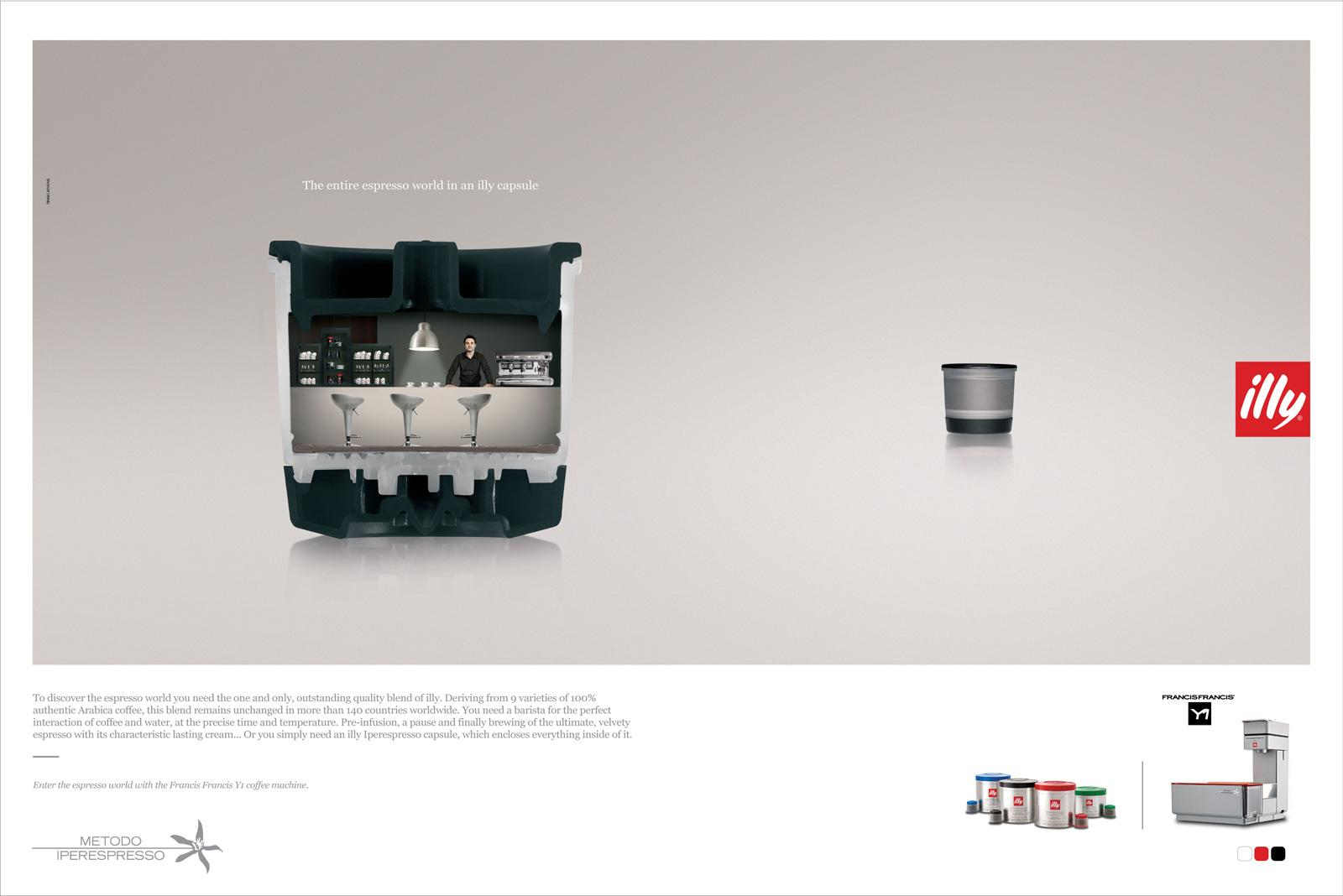 illy Print Ad -  Capsule