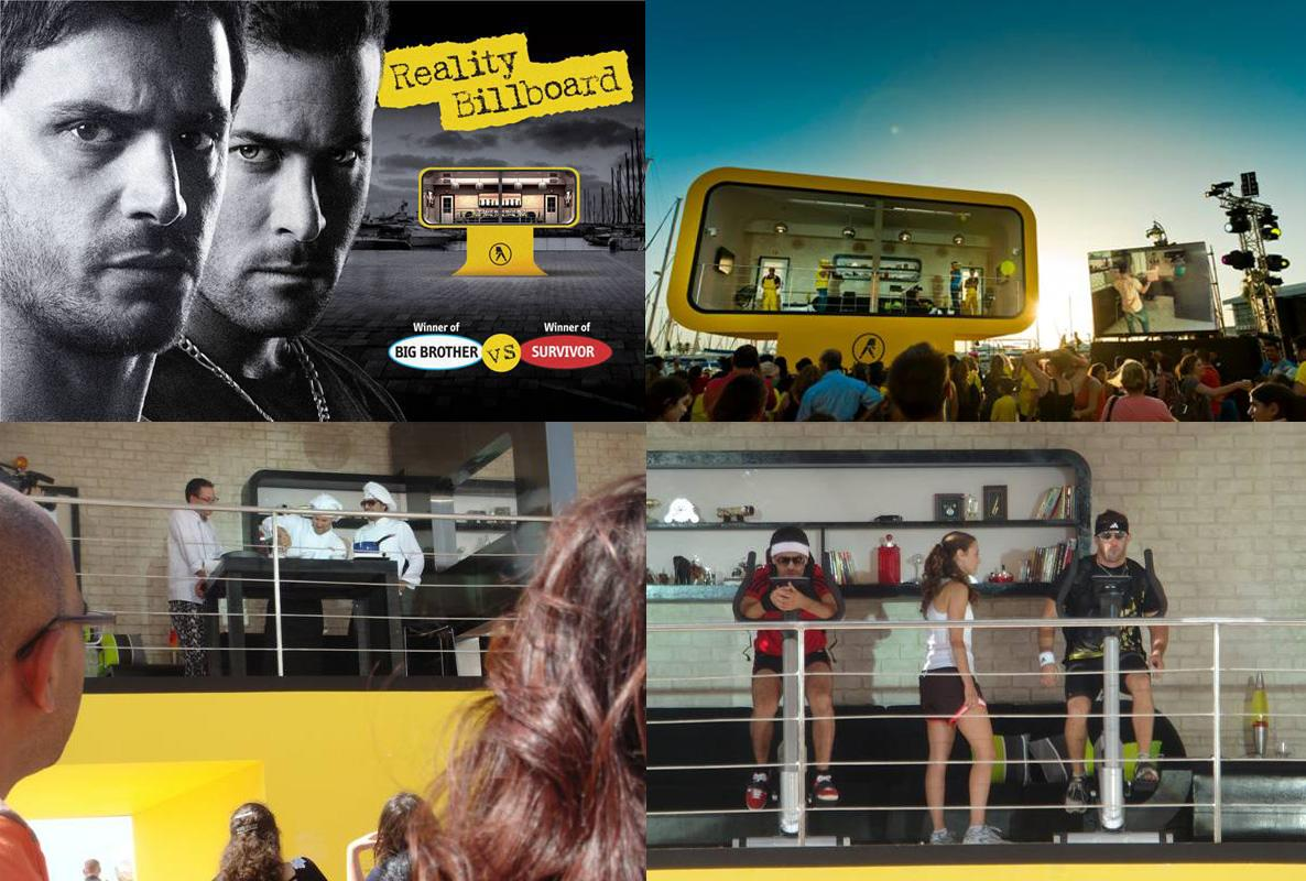 Yellow Pages Ambient Ad -  Reality Billboard