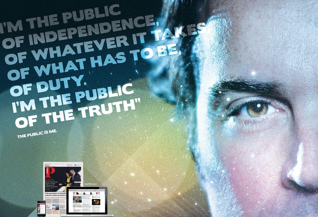 Público Print Ad -  The public is me, 2
