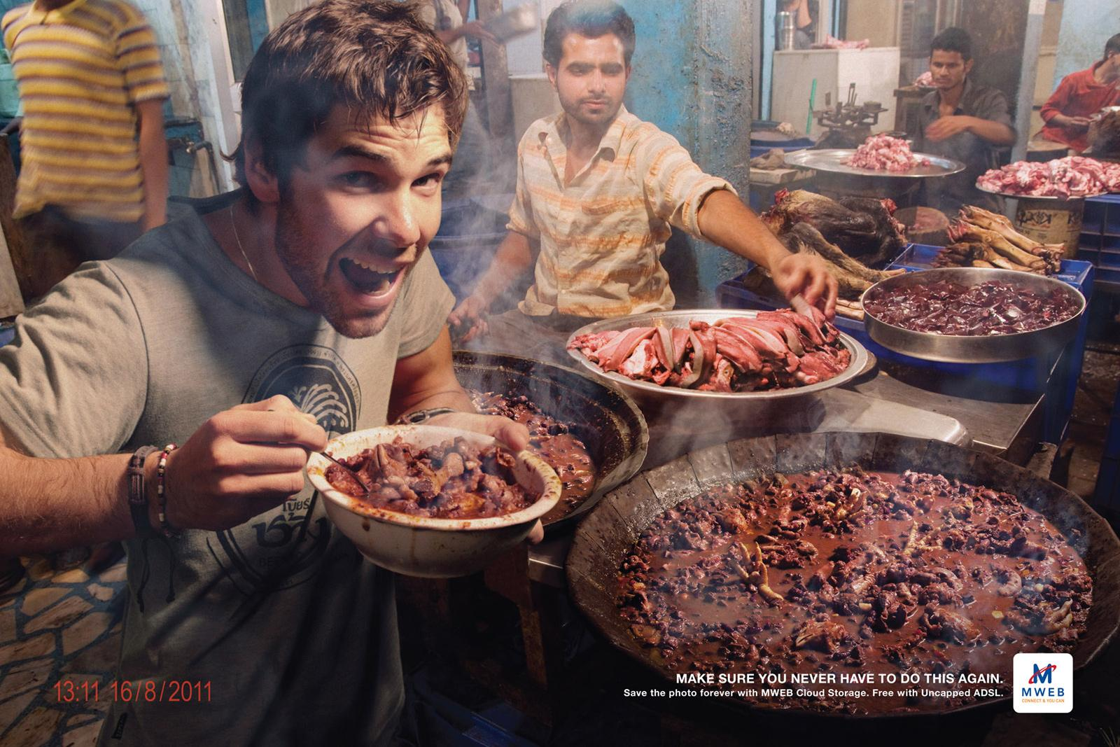 MWEB Print Ad -  India