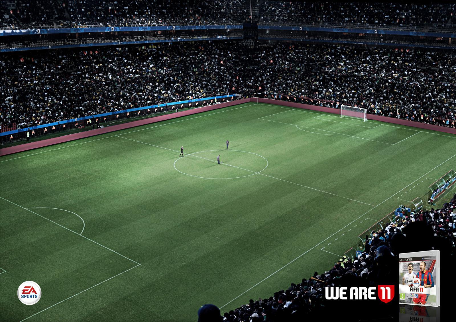EA Games Print Ad -  Stadium