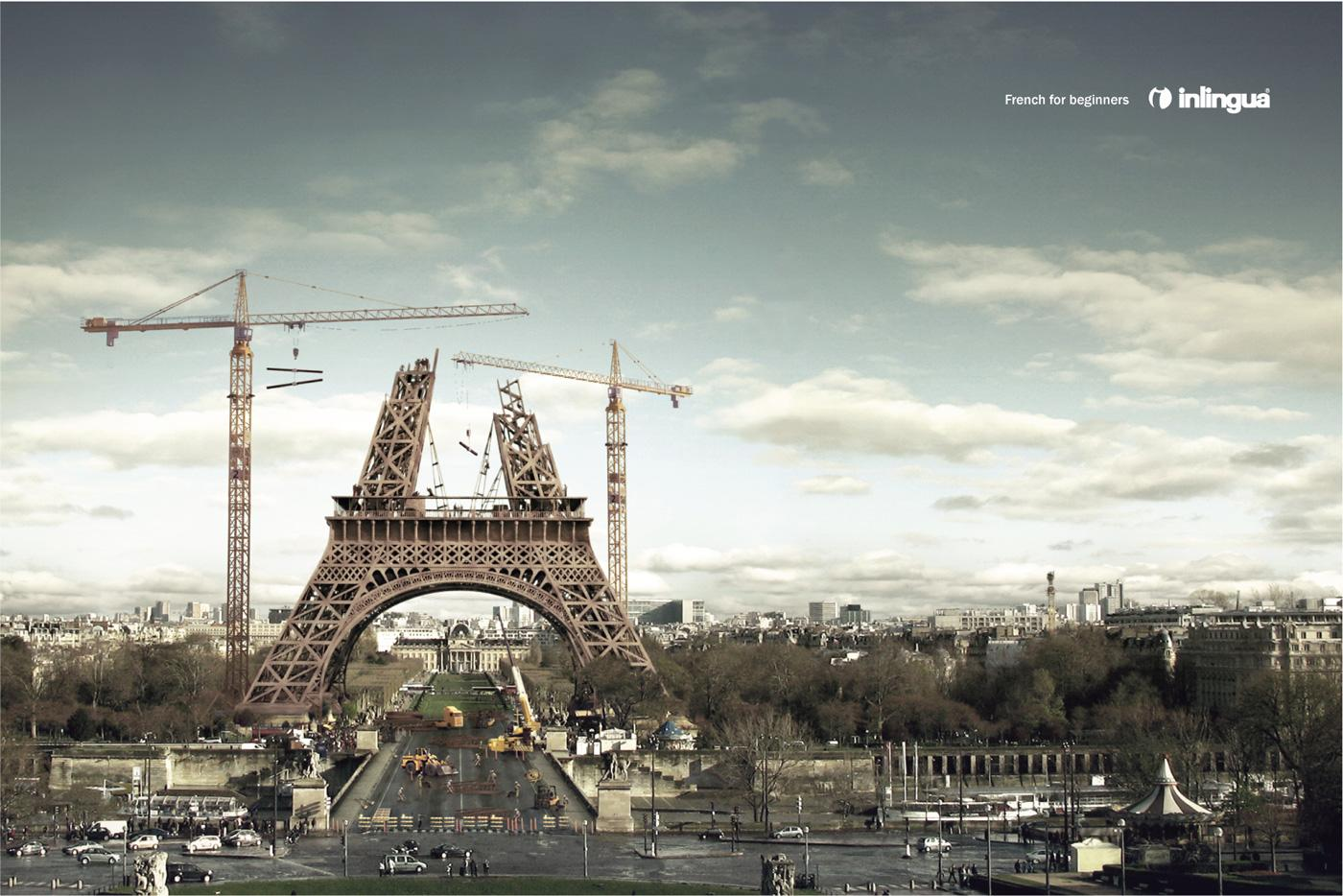 Inlingua Print Ad -  French