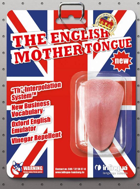 Inlingua Print Ad -  Tongue