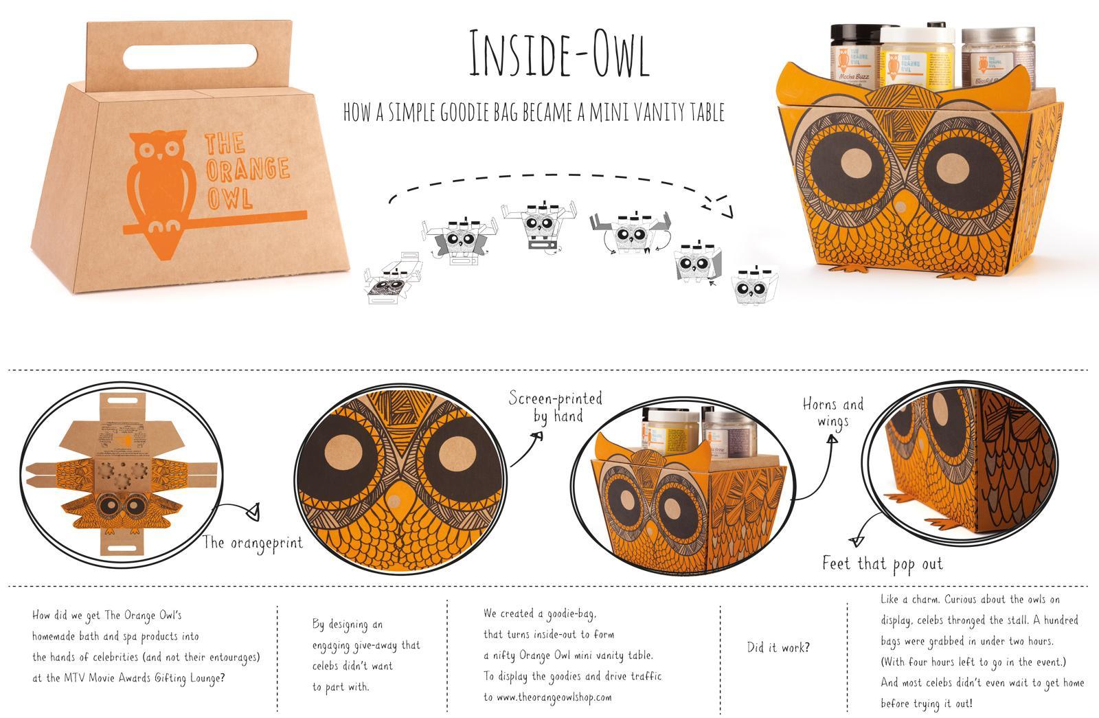 The Orange Owl Direct Ad -  Inside-owl
