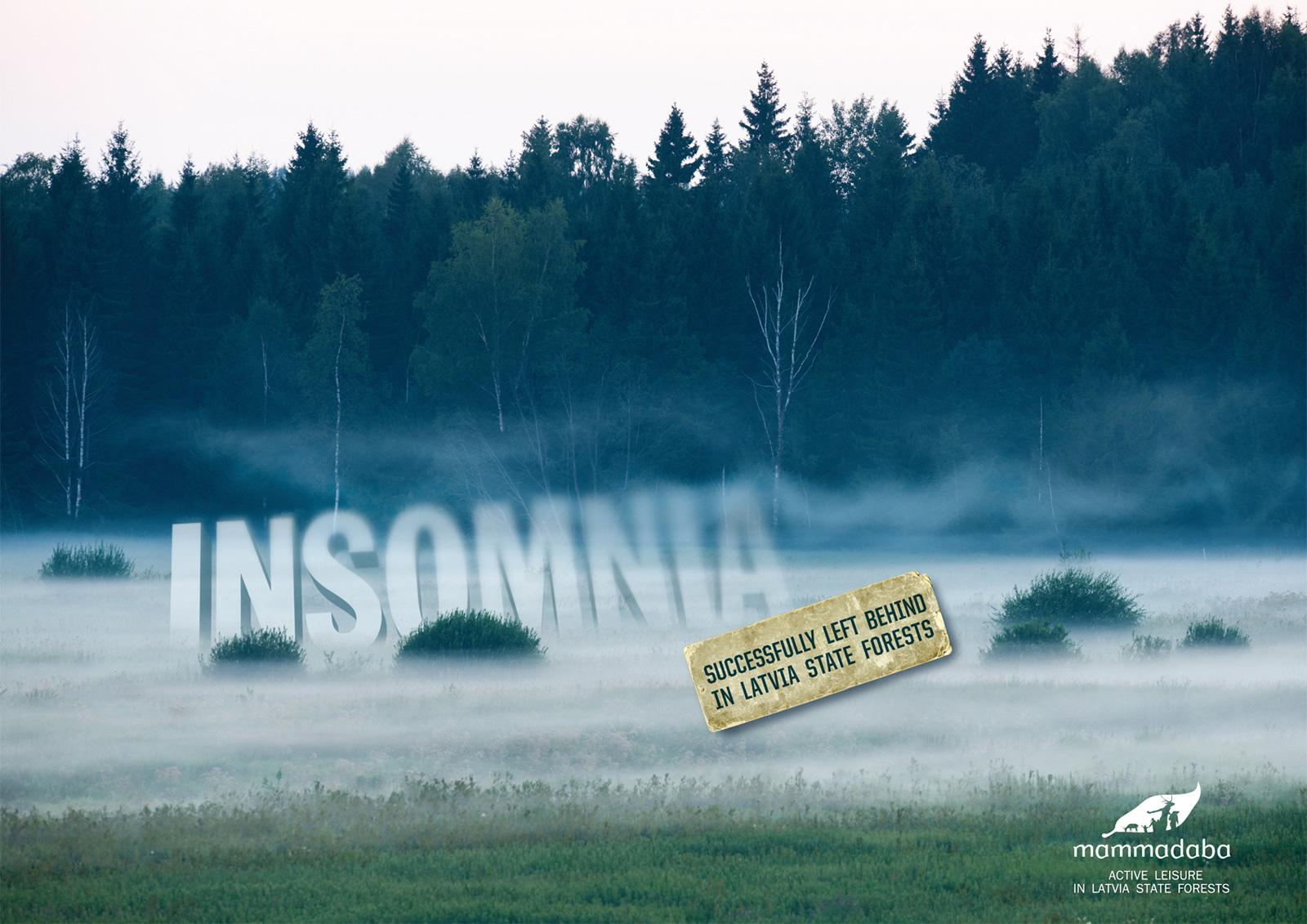 Mammadaba Print Ad -  Insomnia