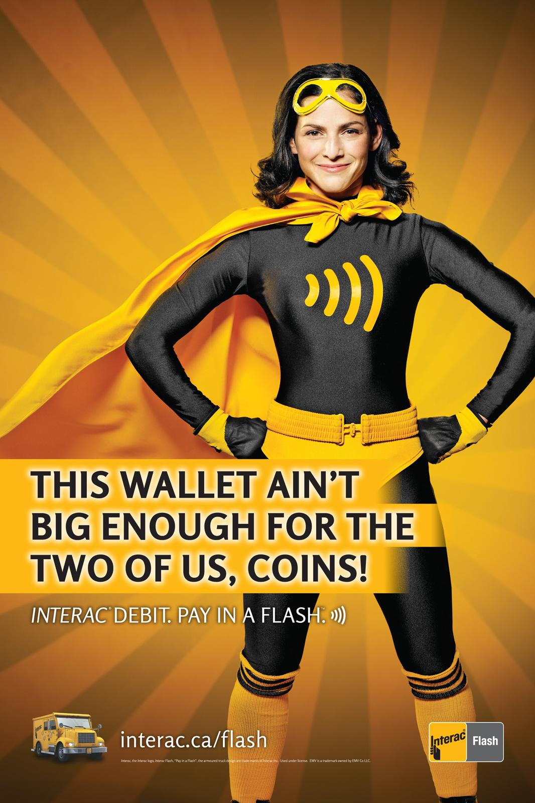 Interac Outdoor Ad -  Wallet