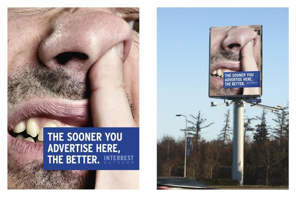 Interbest Outdoor Ad -  Nose