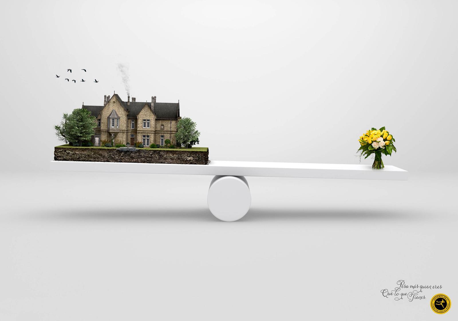 Interflora Print Ad -  Yacht