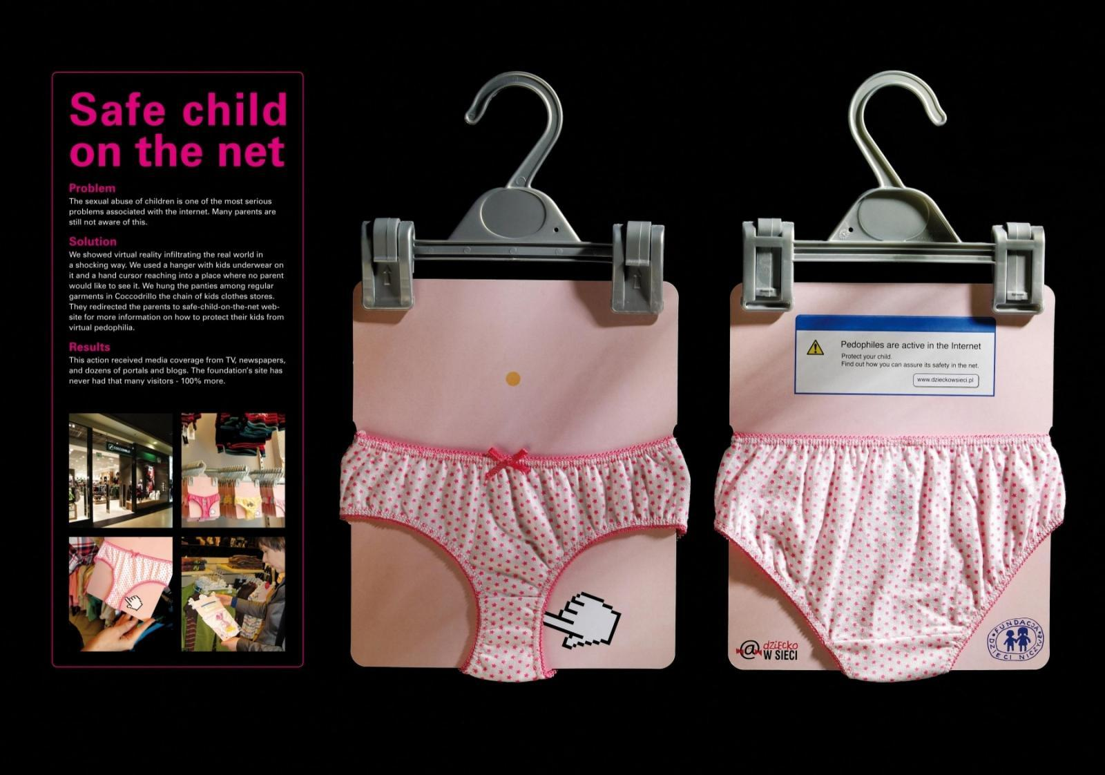 Nobody's Child Fundation Direct Ad -  Safe Child On The Net