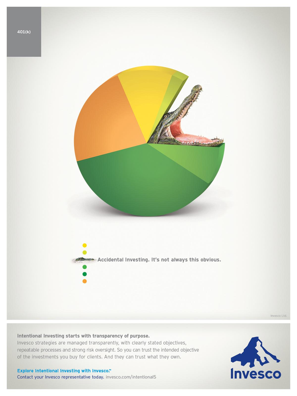 Invesco Print Ad -  Gator