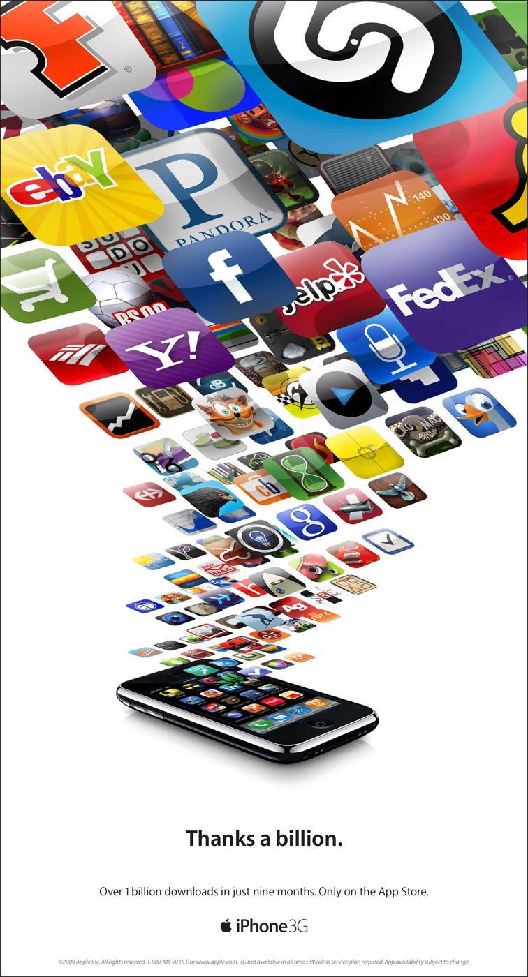 iPhone Print Ad -  Billion