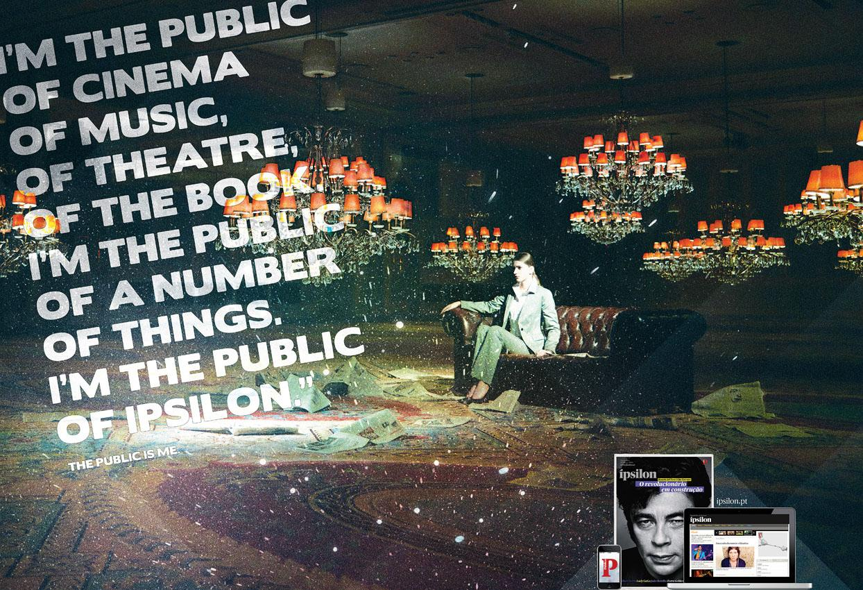 Público Print Ad -  The public is me, 4