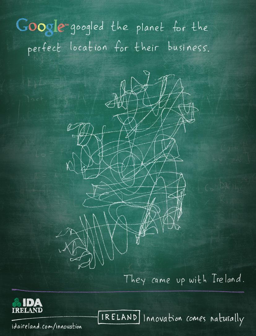 IDA Ireland Print Ad -  Google