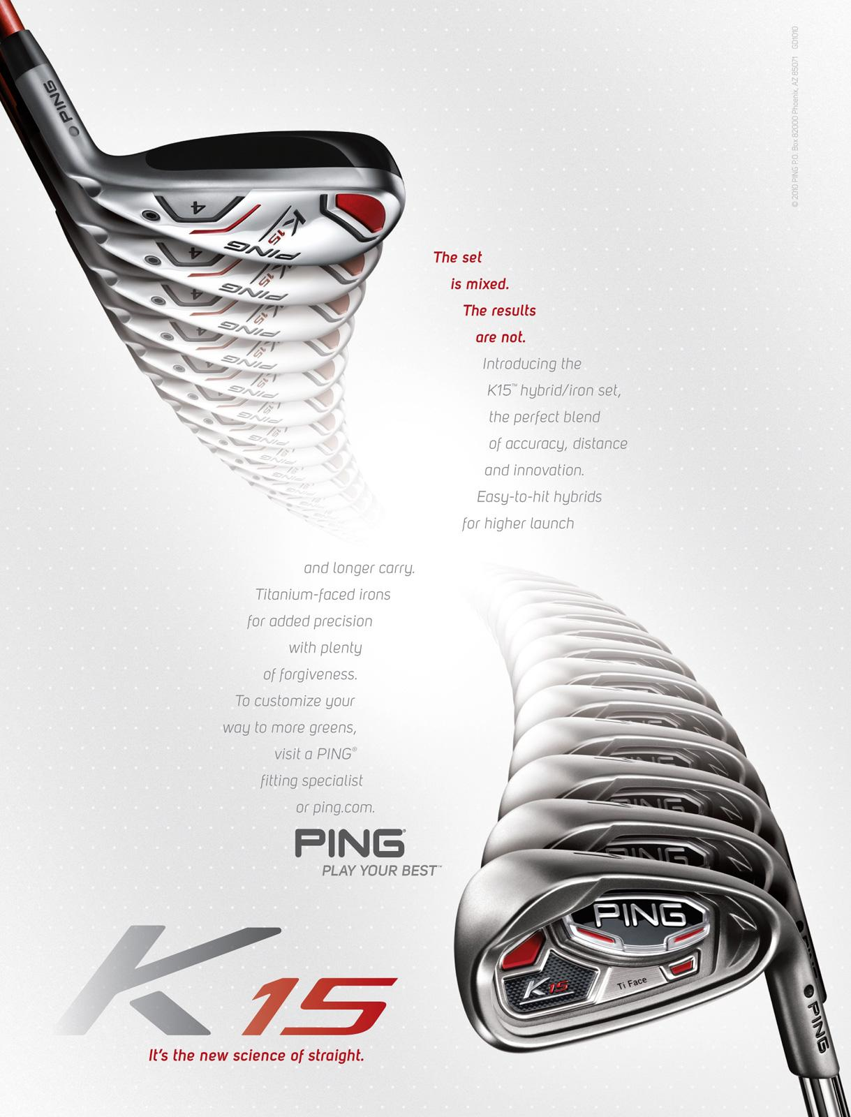 Ping Print Ad -  Iron hybrid