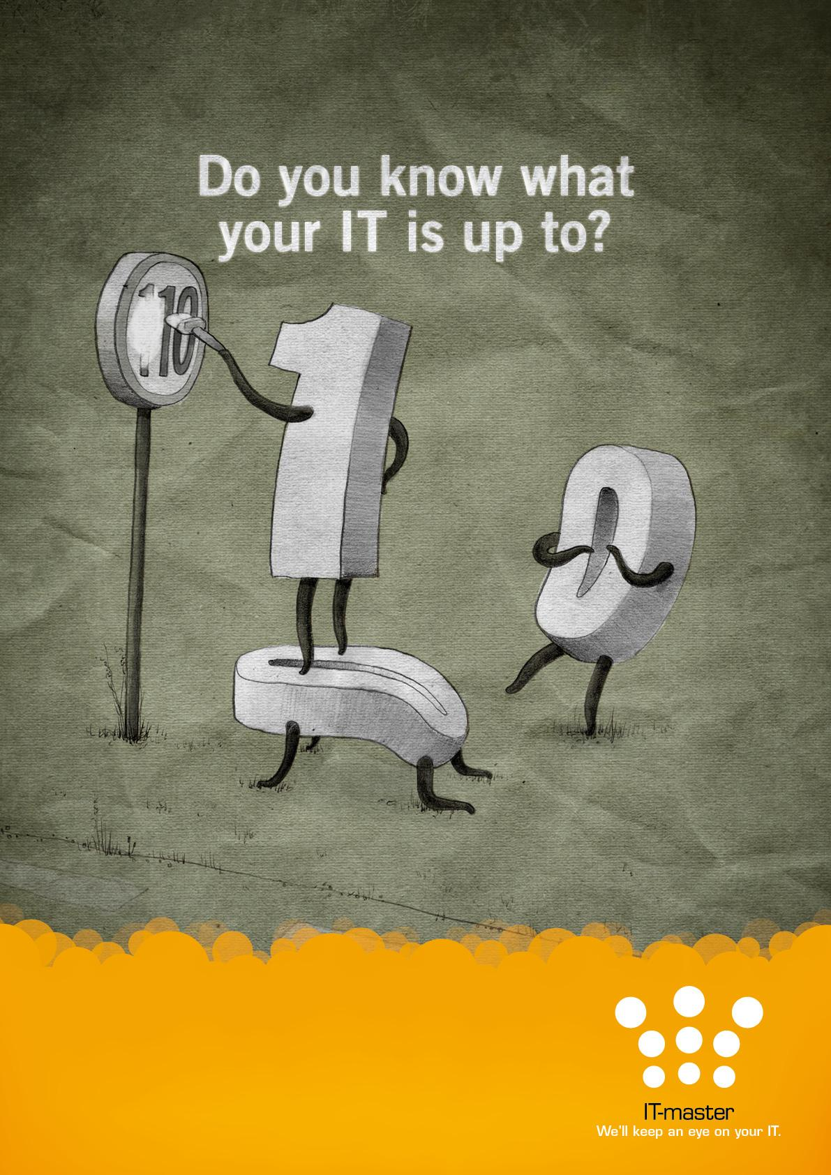 IT-master Print Ad -  We'll keep an eye on your IT, 3