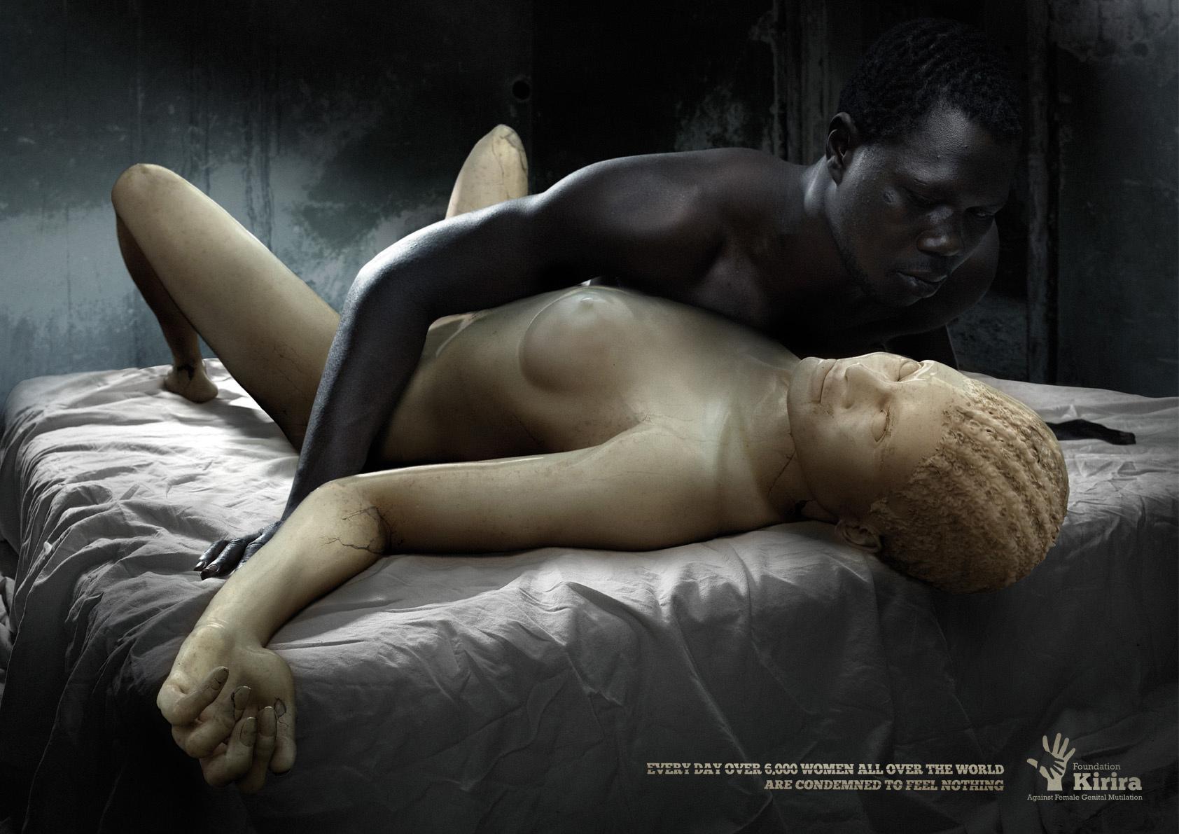 Kirira Foundation Print Ad -  Ivory Woman