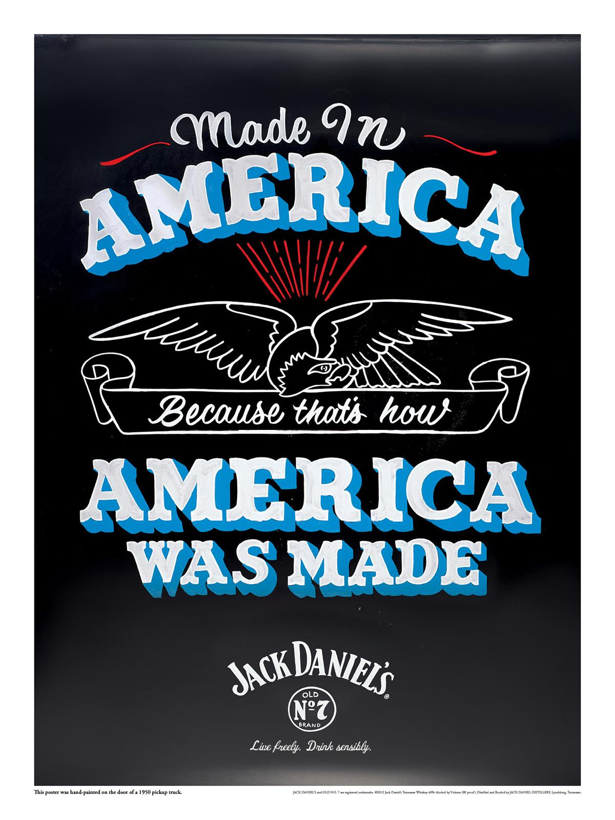 Jack Daniel's Outdoor Ad -  Made in America