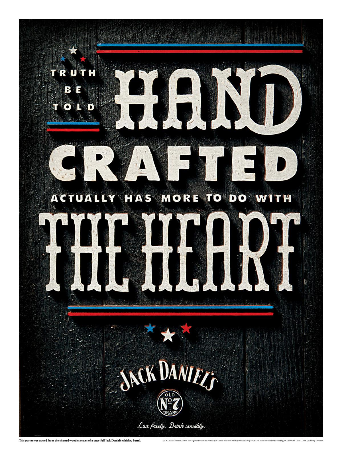 Jack Daniel's Outdoor Ad -  Craft