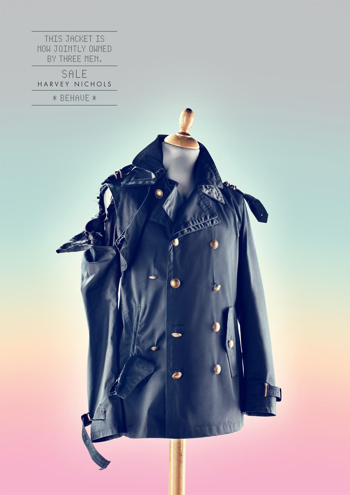 Harvey Nichols Print Ad -  Behave, Jacket