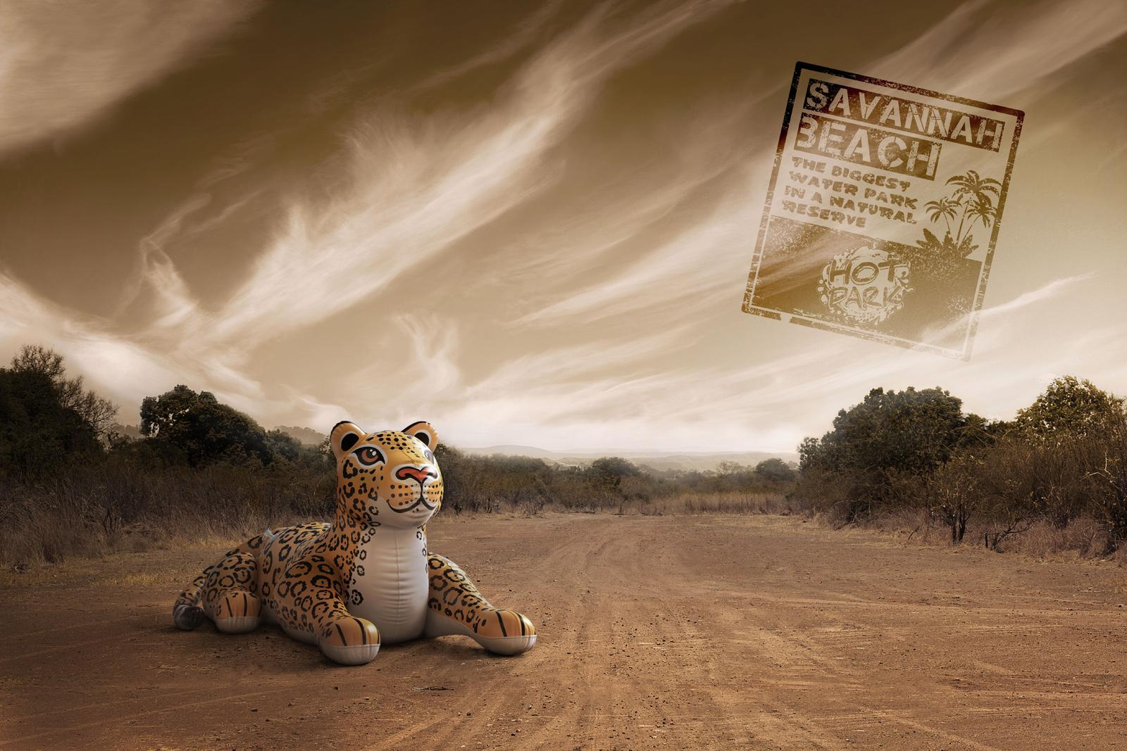 Hot Park Water park Print Ad -  Jaguar