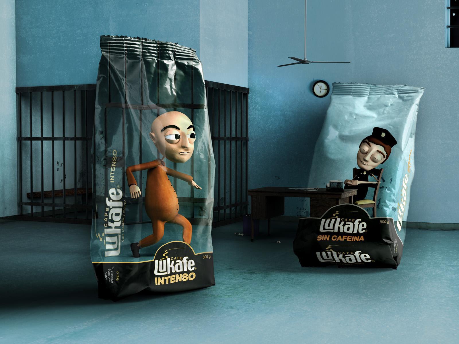 Lukafe Print Ad -  Jail