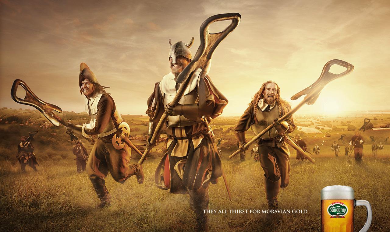 Starobrno Print Ad -  Armies, 3